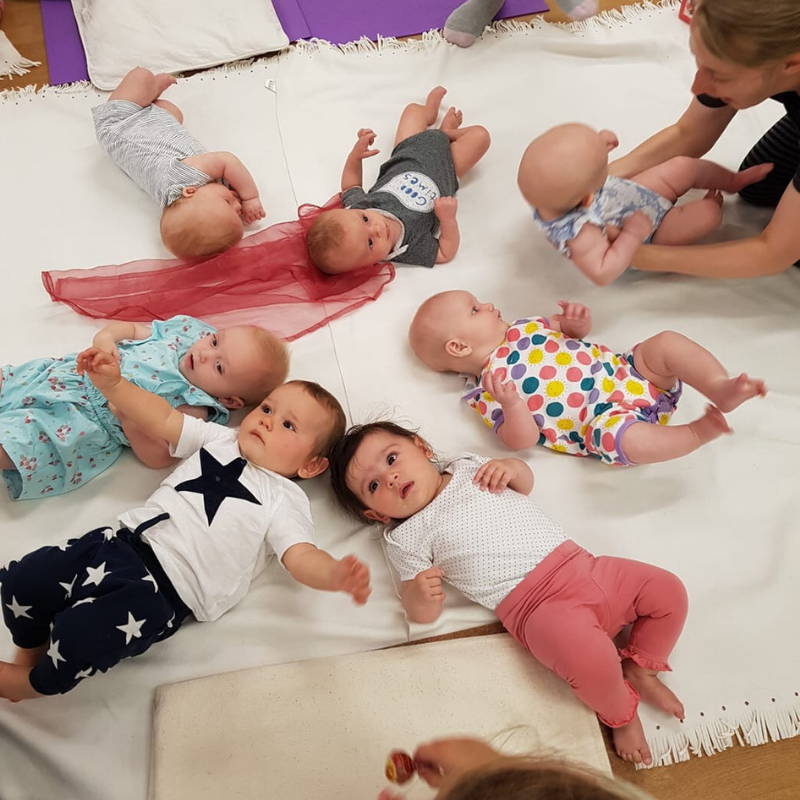 Mum and Baby Yoga with Julie: 6 Week Course