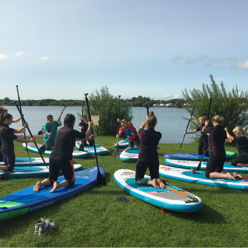 Intro to SUP Yoga Workshop, Richmond, North Yorkshire