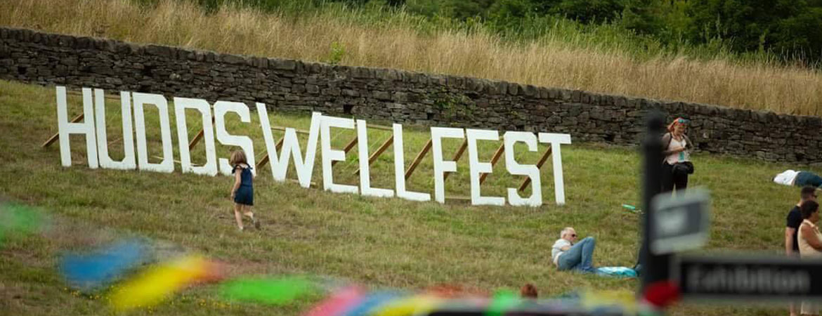 Huddswell Fest Main Sign